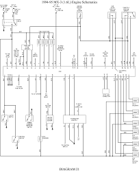 repair guides wiring diagrams wiring diagrams autozone com 22 1994 95 mx 3 1 6l engine schematics