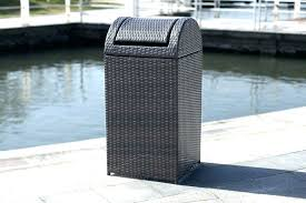 wicker garbage can large size of tall wicker kitchen trash can wicker trash can outdoor patio