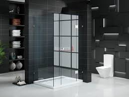 front only frameless shower screen 1800mm