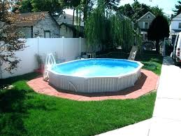 above ground swimming pool ideas. Landscape Around Above Ground Pools Pool Backyard Swimming Ideas . A
