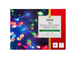 Tesco Led Lights Tesco Is Selling Christmas Lights For Half Price At All