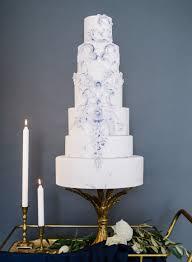 Elegant Modern Vintage Wedding Cake Chic Vintage Brides Chic