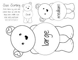 Small Picture Bear Coloring Pages Preschool Miakenasnet