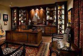 office display cases. Sunglass-display-case-Home-Office -Mediterranean-with-dark-stained-wood-model-sailboat-zebra-print-accent-zebra Office Display Cases A