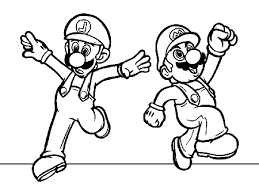 Small Picture mario and luigin 2013 coloring pages for preschoolers Coloring Point