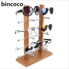 A Frame Display Stands bincoco Sun Glasses Eyeglasses Plastic Frame Display Stands Shelf 76