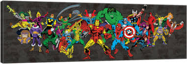 awesome ideas comic wall art new trends shop prints of licensed marvel comics icanvas retro character on marvel comics wall art uk with comic wall art turbid fo