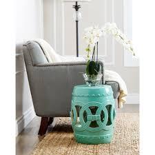 turquoise garden stool. Modren Garden Shop Abbyson Moroccan Turquoise Garden Stool  On Sale Free Shipping  Today Overstockcom 9625200 Intended E