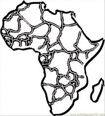 Small Picture Africa Coloring Pages Coloring Book of Coloring Page
