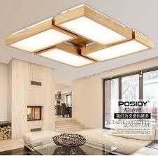 new home lighting. Newest Home Wood Living Room Ceiling Lights LED New Concept Design Bedroom Indoor Decoration Modern Lighting