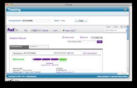 fedex shipping number exle tracking track you packages right from filemaker