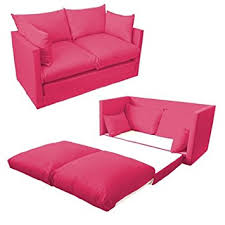 couch bed for kids. Ready Steady Bed Comfortable Children\u0027s Kids Drill 2-Seater Sofa Bed, Fuchsia Pink: Amazon.co.uk: Kitchen \u0026 Home Couch For