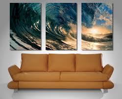3 panel wall art canada