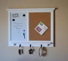 corkboard wall organizer magnetic dry