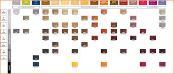 Redken Chart Redken Shades Color Chart World Of Menu And Chart Intended