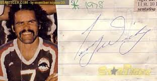 Terry Wickey autograph collection entry at StarTiger - showscan
