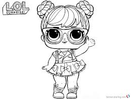 Lol Coloring Pages Big Eyes Doll Free Printable Coloring Pages