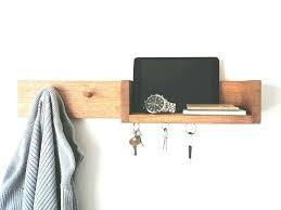 wooden coat rack with shelf key holder with shelf shelf storage wall coat rack wood coat wooden coat rack