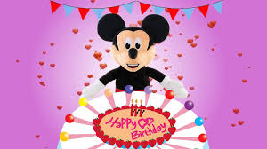 Happy Birthday Song Mickey Mouse ...