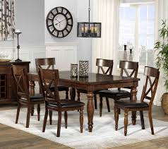 dining rooms set. kingstown 7-piece dining room set - chocolate rooms