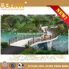 Garden Bridge Design And Construction S Shaped Curve Landscape Bridge With Carved Iron Fence Metal Construction Bridge For Design Bf08 Y10008 Buy Steel Structure Garden Bridge Product