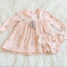 Jessica Simpson Baby Clothes Classy Jessica Simpson Dresses Baby Girl Star Dress Bloomers Poshmark
