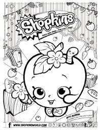 Creative Inspiration Shopkins Coloring Pages Printable Page 6 Free