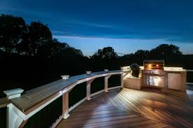 led deck rail lights. Amazing Backyard Deck Railing Lights Led Decoration Rail