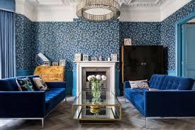 blue sofa living room design. victorian living room by chris snook blue sofa design