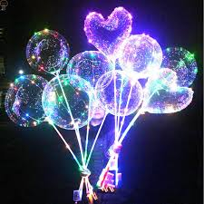String Light Balloon Hot Item Party Led String Light Up Bobo Balloon Toy