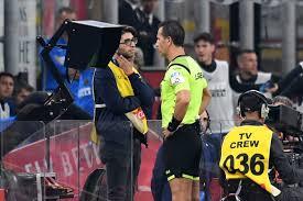 Serie A: Doveri arbitra Napoli-Inter