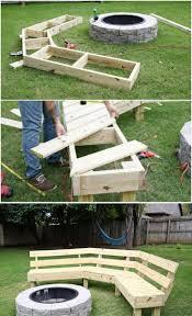diy yard furniture. 10. Rocky Mountain Fireside Bench Diy Yard Furniture D