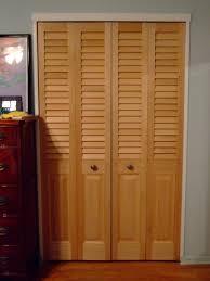 bifold closet doors with louvers