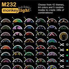 M232 Wheel Light Monkey Light M232 Bike Wheel Light