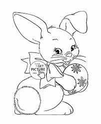 Cute Coloring Pages Of Baby Bunnies - Eliolera.com