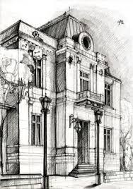 architecture building drawing. Drawing By Adelina Popescu. I Hope I\u0027ll Be Able To Sketch A Nice Building Like\u2026 Architecture K