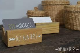 wooden business cards diy wooden business card holder diy huntress