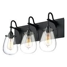 vanities black vanity light fixtures sonneman lighting chelsea satin black bathroom light