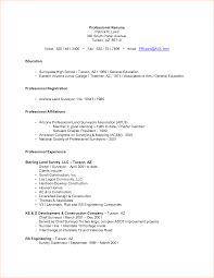 Affiliation Examples For Resumes