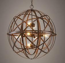 sphere lighting fixture. Orbital Sphere Pendant Lighting Fixture 3