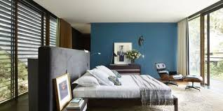 blue and green bedroom. Mid Century Modern Design Blue And Green Bedroom