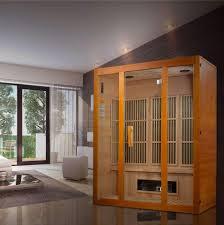 Golden Design 3 Person Sauna Golden Designs Maxxus Alpine Dual Technology 3 Person Low Emf Far Infrared Sauna Canadian Hemlock Mx J306 02s