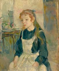berthe morisot young girl with an a 1891