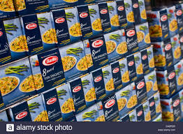barilla stock photos barilla stock images alamy barilla spaghetti on display at a costco whole warehouse club stock image