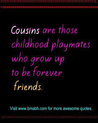 Disappointed Cousins Quotes