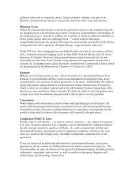 international business transactions white paper  2 address
