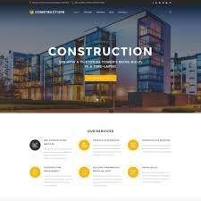 Construction Website Templates Enchanting 28 Best Construction Company Website Templates