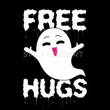 Cute Ghost Free Hugs Halloween' Bandana   Spreadshirt