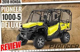 2018 honda side by side. Beautiful Side 2018 Honda Pioneer 10005 Deluxe Review Of Specs U0026 Changes  Price Colors With Honda Side By O