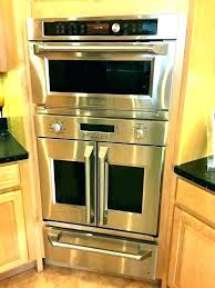 french door wall oven ovens modern maid full image for combo microwave reviews